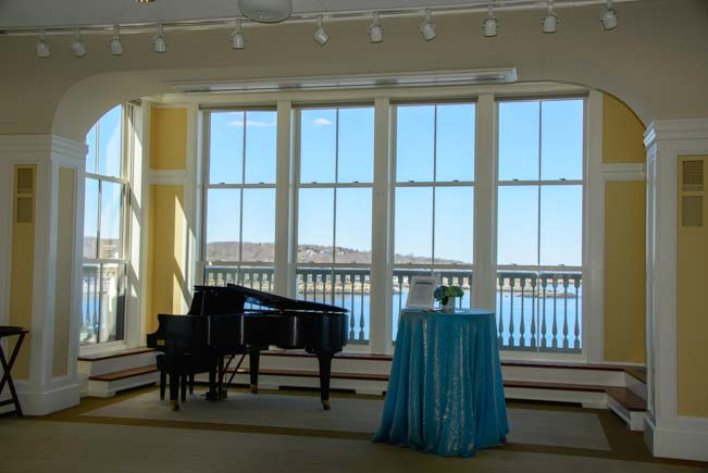Shalin Liu Performance Center Reception Hall Rockport Massachusetts