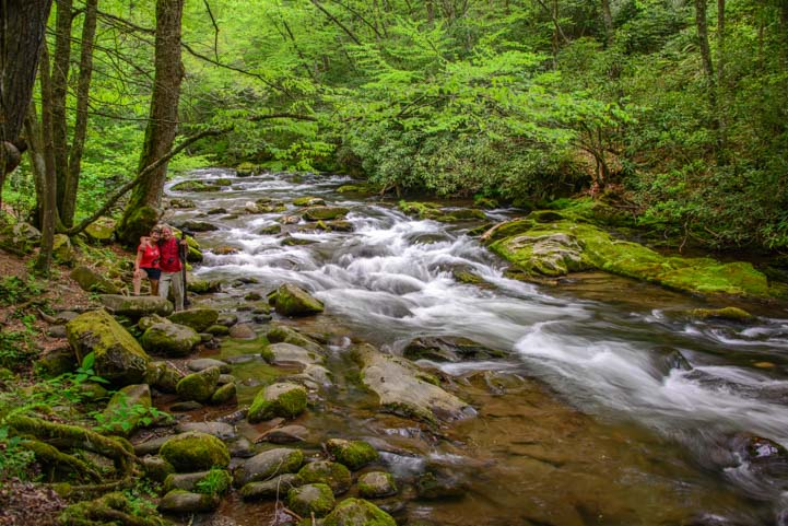 Oconaluftee River Great Smoky Mountains National Park North Carolina