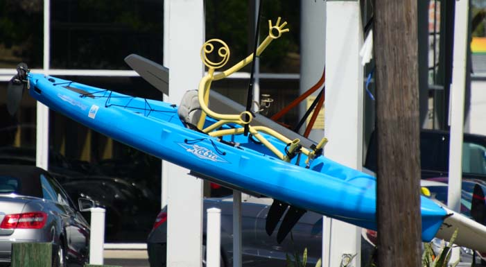 Kayaking Tube Dude in Sarasota Florida
