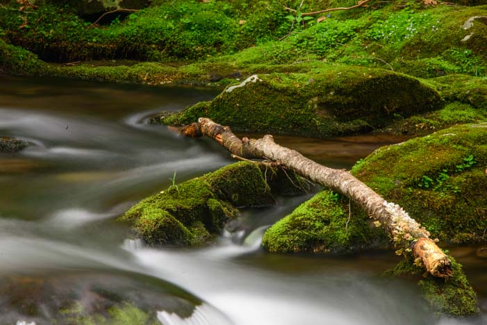 Oconaluftee River Smoky Mountains North Carolina