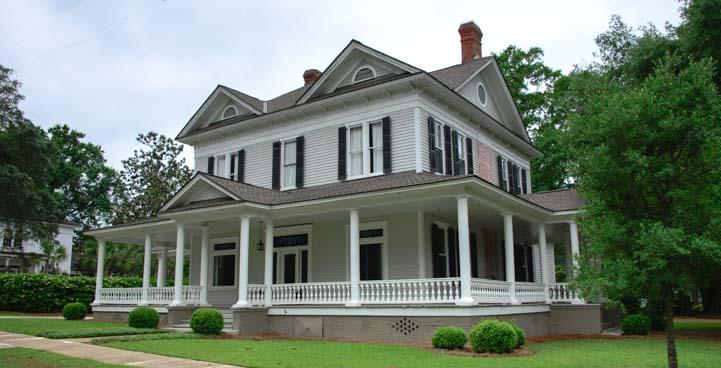 Antebellum home in Thomasville Georgia