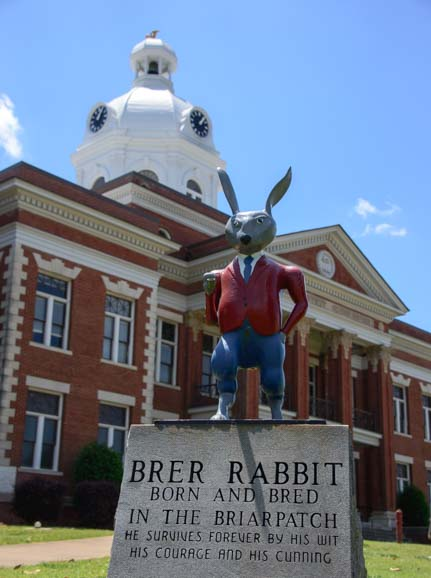 Brer Rabbit in the Briar Patch Eatonton Georgia