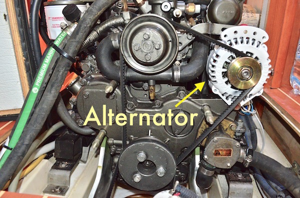 Balmar 100 amp engine alternator