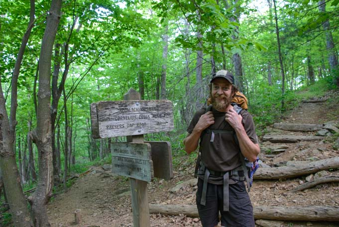 Appalachian Trail Through Hiker Brian (Porkchop)