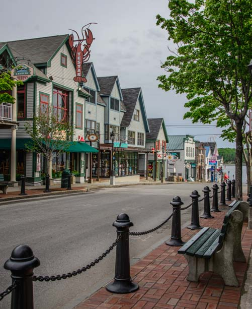 Bar Harbor Maine boutique shops