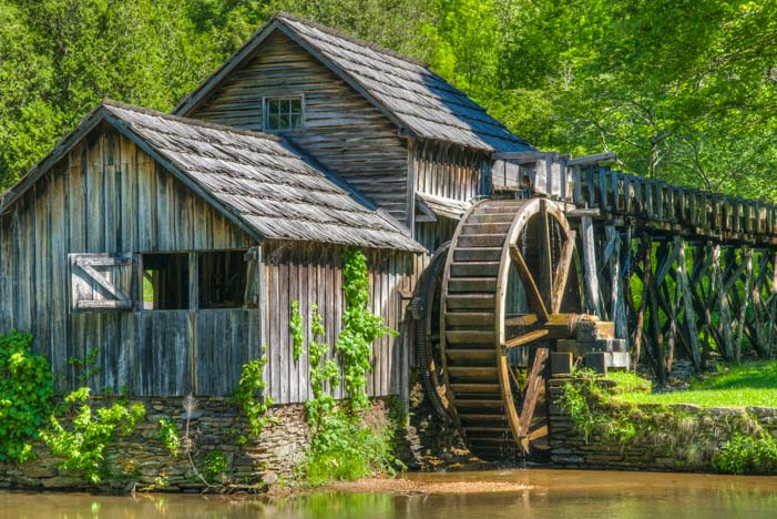 Mabry Mill Virginia Blue Ridge Parkway