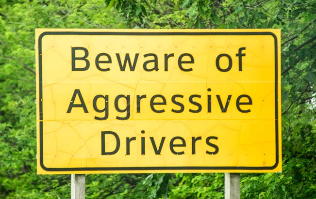 Beware of Agressive Drivers