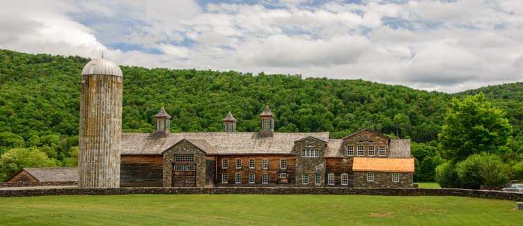 Upscale Farm in the Catskill Mountains