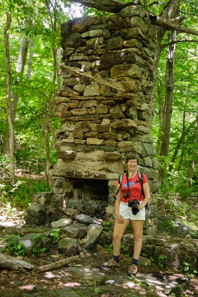 Mary's Rock Summit Hike Chimney