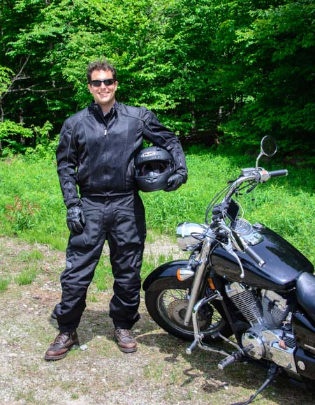 Motorcycle traveler