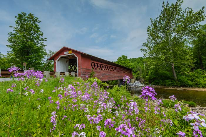 Henry Covered Bridge Bennington Vermont