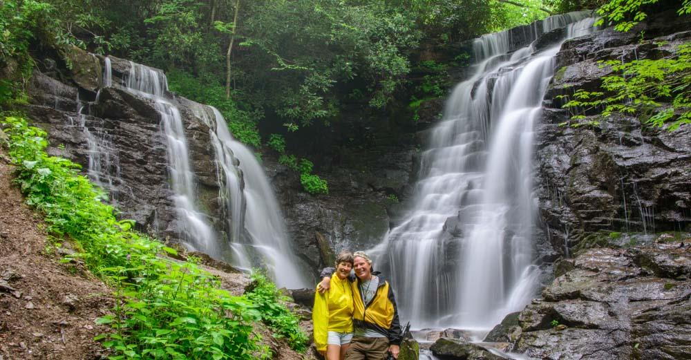 Waterfalls Of The Blue Ridge Parkway North Carolina