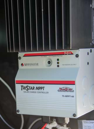 Morningstar TriStar MPPT 60 amp solar charge controller
