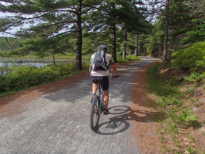 Bicycling the Carriage Roads in Acadia National Park Maine