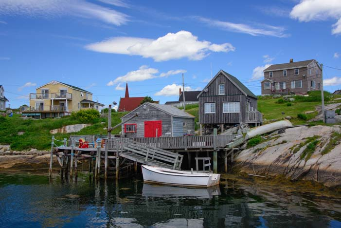 Harbor at Peggy's Cove Nova Scotia