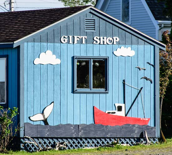 Lubec Maine Gift Shop Building