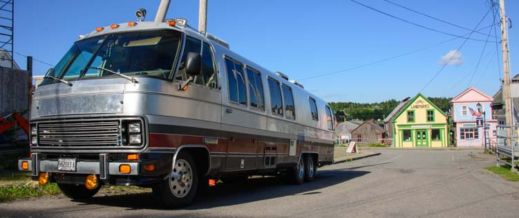 Cool RV in Lubec Maine