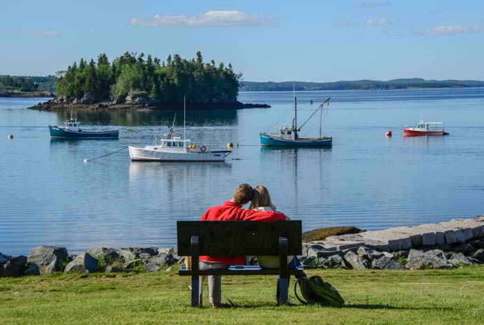 Romance at Lubec Harbor Maine