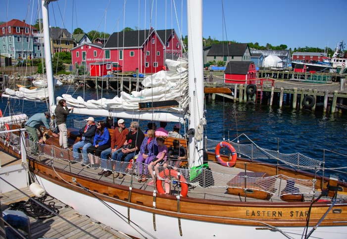 Schooner Eastern Star Lunenburg Nova Scotia