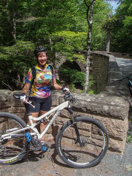 Bicycling in Acadia National Park Maine