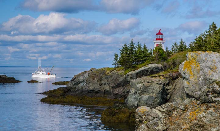 East Quoddy Lighthouse Campobello Island New Brunswick Canada