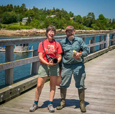 True Maine Lobersterman Prospect Harbor Maine