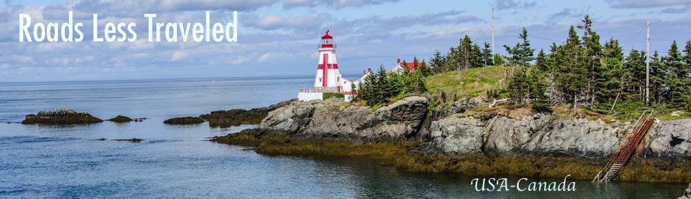 USA Canada Border Campobello Island