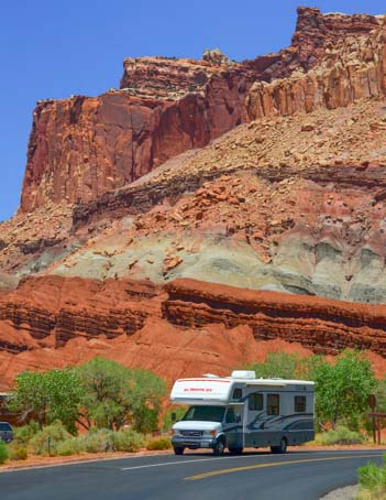 Rental RV - learning how to RV full-time