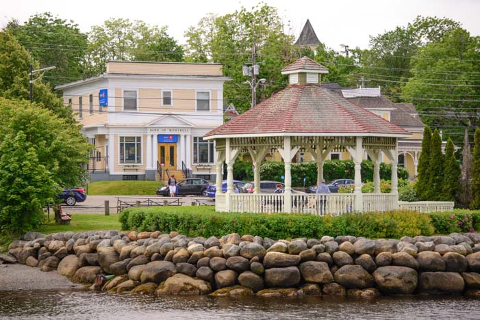 Mahone Bay Bandstand Nova Scotia Canada