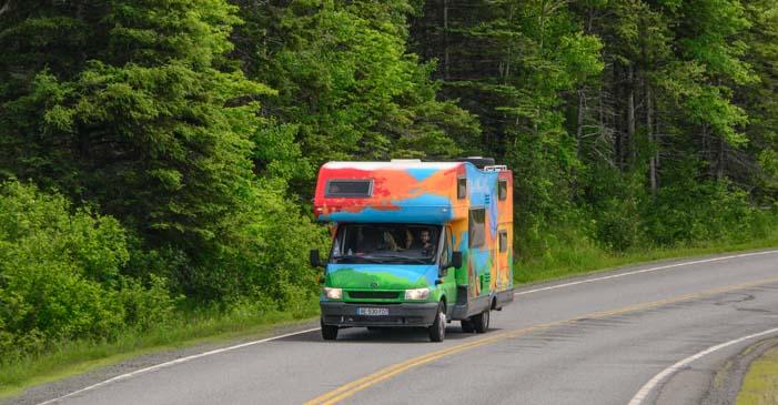 RV in Northumberland Nova Scotia