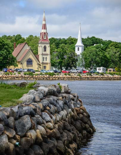 Shoreline Mahone Bay Nova Scotia Canada
