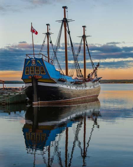 Immigrant ship Hector Pictou Nova Scotia Canada