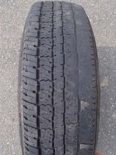 Bald tire