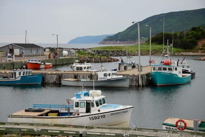 Pleasant Bay Harbor Nova Scotia Canada