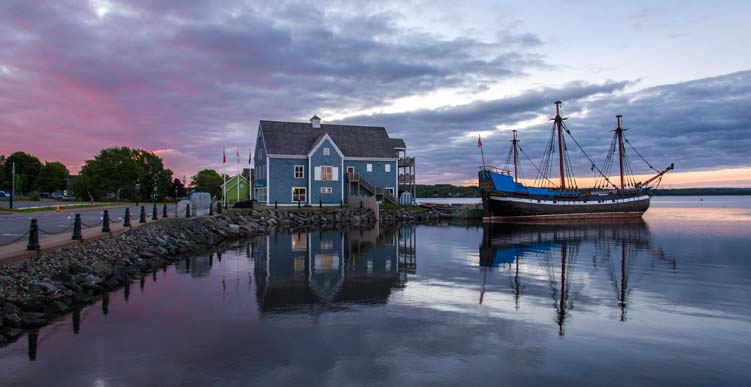 Pictou Harbor Nova Scotia Canada