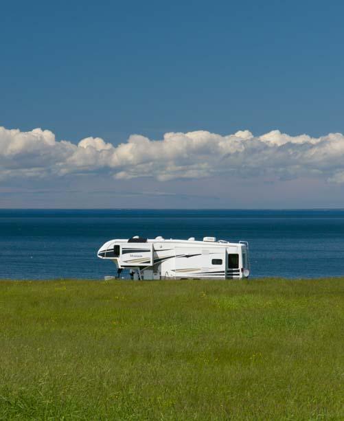 RV fifth wheel Northumberland Shore Nova Scotia