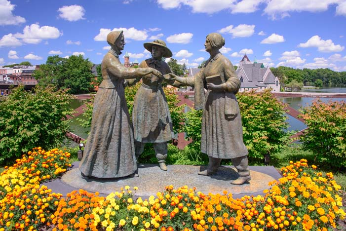 Woman's Rights Convention Site 1848 Seneca Falls New York