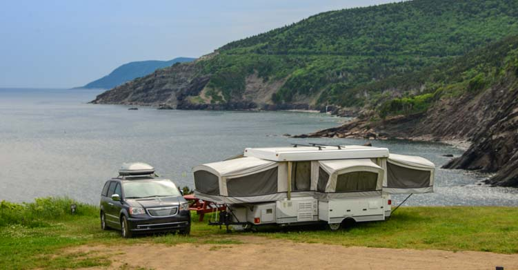 Learn RVing with a Popup tent trailer RV