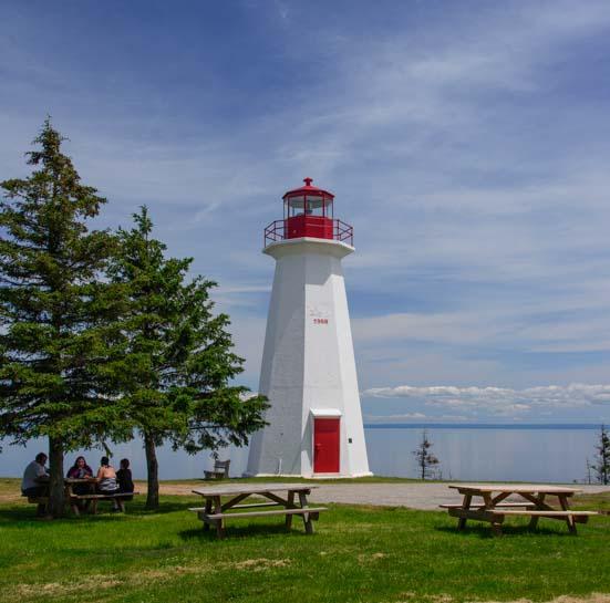 Cape George Lighthouse Antigonish Nova Scotia Canada