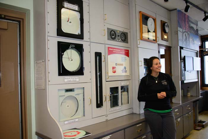 Kaitlyn Mt. Washington Observatory Weather Station New Hampshire