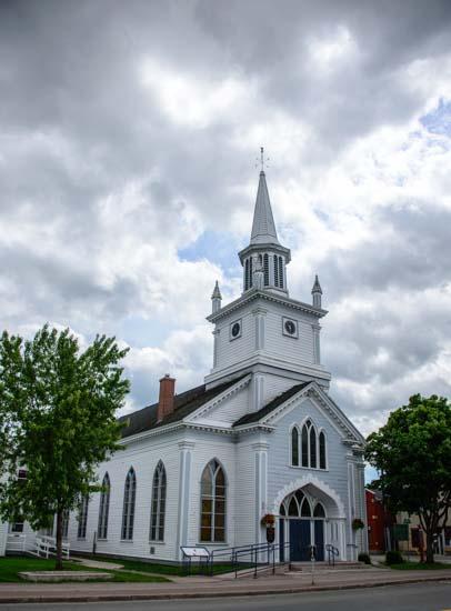 Church in Antigonish Nova Scotia