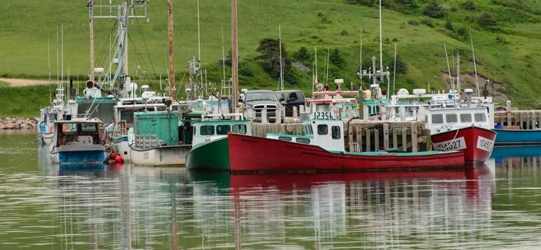 Bay St. Lawrence Cape Breton Island Nova Scotia Canada