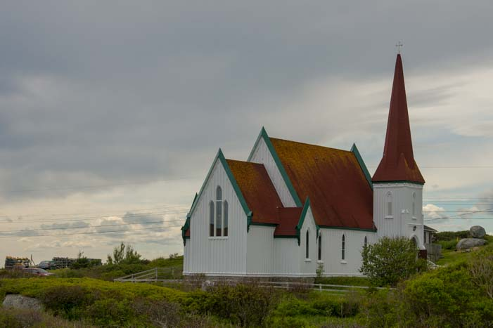 Chuch at Peggy's Cove