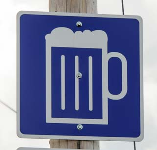 Brewery Sign Nova Scotia Canada