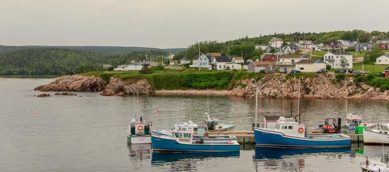 Neil's Harbor Cape Breton Island Cabot Trail Nova Scotia