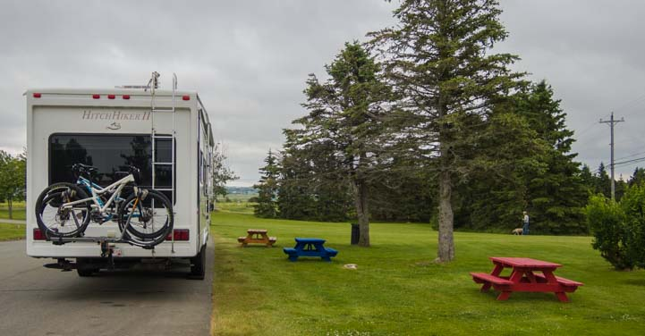 RV in South Coast Nova Scotia