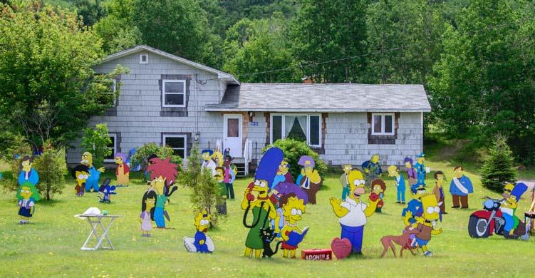 The Simpsons House Nova Scotia