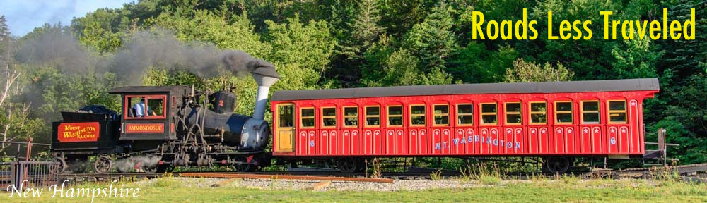 New Hampshire Mt Washington Cog Railway