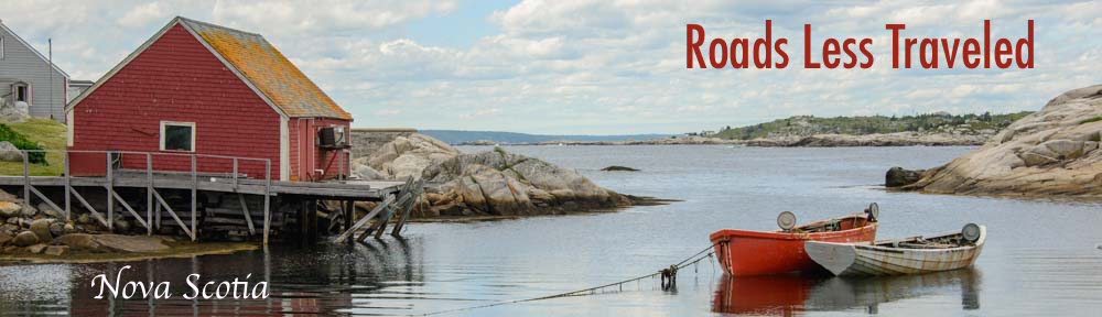 RLT Cover Nova Scotia Peggy's Cove Canada