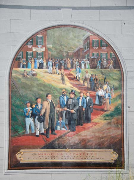 Maysville Kentucky Flood Wall Mural History